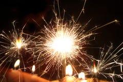 Spark lights Stock Photos