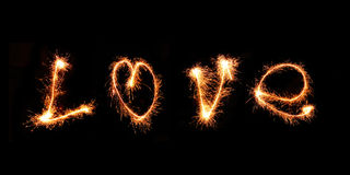 Spark of Love Stock Photography