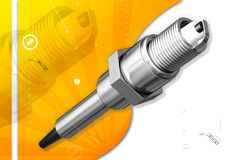 Spark plug Royalty Free Stock Images