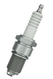 Spark plug. Isolated on white background. 3D render Royalty Free Stock Photography