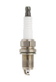 Spark plug. New spark plug isolated on white background Royalty Free Stock Photography
