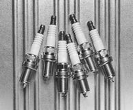 Spark plug for the car Stock Photography
