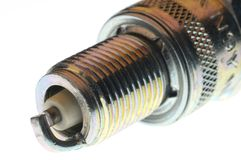Spark plug close up Royalty Free Stock Images