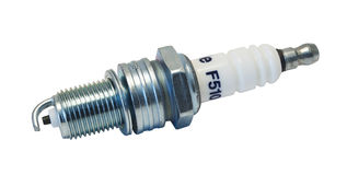 Spark Plug. On white background royalty free stock images
