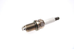 A spark plug for your car. Car sparks plugs in diffrent assembly stock image