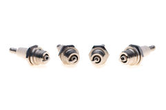 The spark plugs Stock Photography