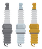 Spark plugs. The figure shows the spark plugs Royalty Free Stock Photography