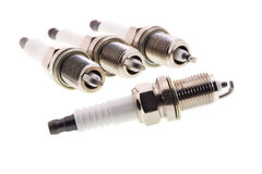 Spark plugs Royalty Free Stock Image