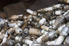 Spark plugs Royalty Free Stock Photo
