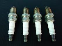 Spark Plugs stock image