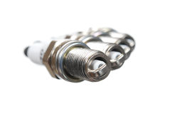 Spark plugs Stock Photo