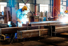 Spark steel plant Royalty Free Stock Photos