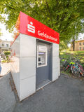 Sparkasse Geldautomat Photo stock