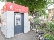 Sparkasse Geldautomat Royalty Free Stock Image