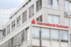 Sparkasse International Business Stock Images