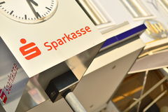 Sparkasse Royalty Free Stock Images