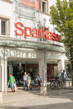 Sparkasse people Stock Photos