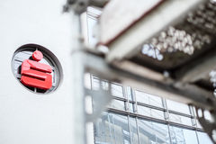 Sparkasse under construction Royalty Free Stock Photography