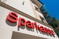Sparkasse Stock Photo