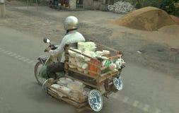 Sparkcykelporslinrepresentant royaltyfri foto