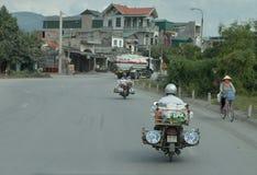 Sparkcykelporslinrepresentant på Hanoi royaltyfri bild