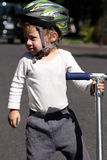 sparkcykelskridskolitet barn Royaltyfria Bilder