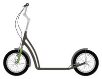 Sparkcykelsparkcykel Royaltyfri Fotografi