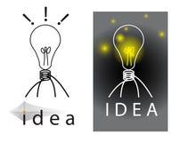 Sparked idea Stock Photo