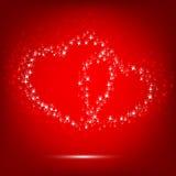 Sparkilng Heart Stock Photo