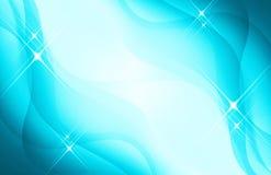 Sparking Blue Background Stock Photo