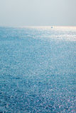 Sparking Ocean in afternoon Royalty Free Stock Photo