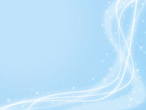 sparkle предпосылки голубой Стоковая Фотография RF