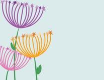 sparkle цветков Стоковое Изображение RF