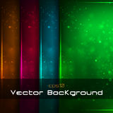 Sparkle backgrounds set Royalty Free Stock Photo