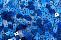 Sparkle blue background Stock Images