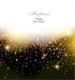Sparkle christmas background. Stock Image
