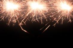 Sparkle firework Stock Photo