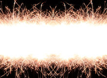 Sparkle firework Stock Image