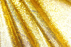 Sparkle glitter golden background Stock Images