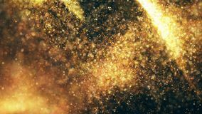 Sparkling flow abstract background. Sparkle glitter, stars and sparkling flow abstract background Stock Photography