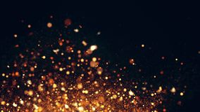Sparkling flow abstract background Royalty Free Stock Image