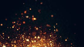 Sparkling flow abstract background Royalty Free Stock Photo