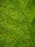 Sparkle green dot pattern Stock Photos