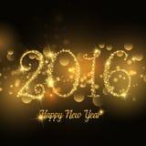 Sparkle Happy New Year design Royalty Free Stock Photos