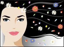 Sparkle holiday woman Royalty Free Stock Photos