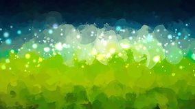 Sparkle landscape brush strokes background. Vector version Royalty Free Stock Photography