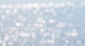 Sparkle lighting bokeh. On the sea Stock Images