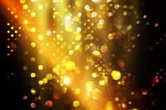 Sparkle lights Christmas lights Royalty Free Stock Photos