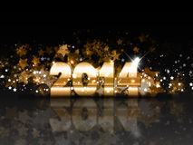 Sparkle New Year background Stock Photo