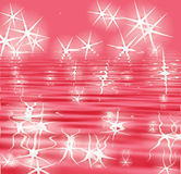Sparkle reflection background Stock Photography
